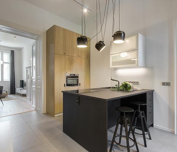 flat renovation in Budapest
